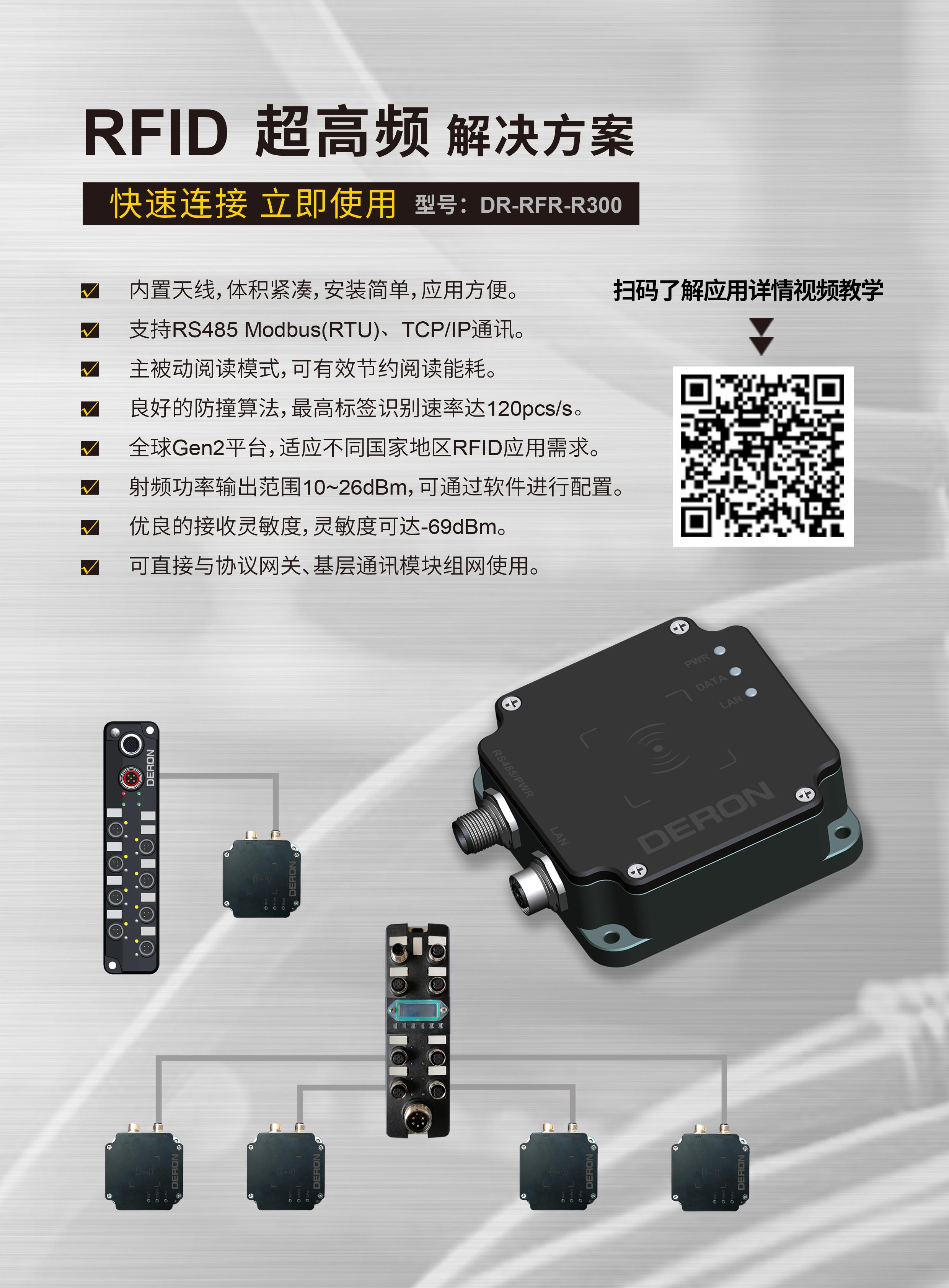 RFID读写器及标签推广视频